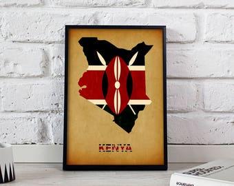 Kenya Wall Art Etsy