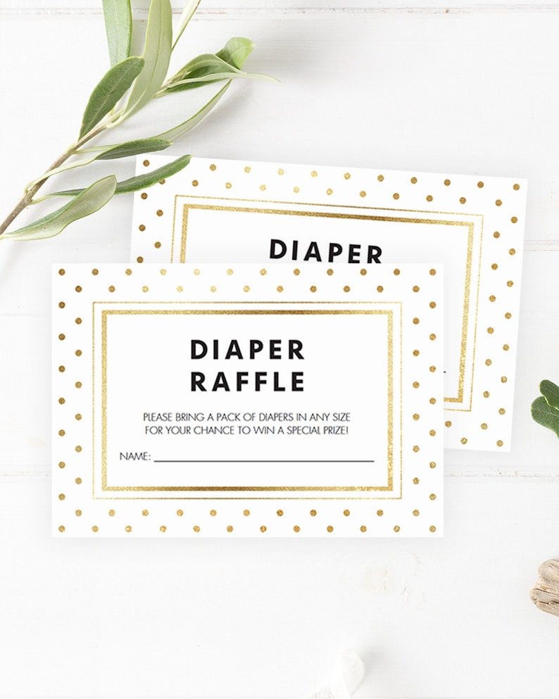 picture regarding Printable Diaper Raffle Tickets known as Printable Diaper Raffle Tickets Prompt Down load Boy or girl Shower Diaper Raffle Card Printable Gold Confetti Youngster Shower Impressive Stylish Obtain GD1