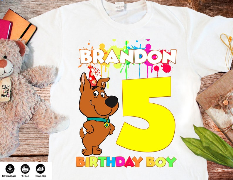 image relating to Scooby Doo Printable titled Scooby Doo printable Scooby Doo birthday blouse Scooby Doo tailored Scooby Doo occasion prefer Do it yourself - Electronic Record