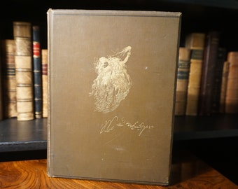 1888 The Works of William Shakespeare edited by Henry Irving (Vintage Antique Book)