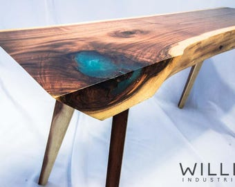 Epoxy Table Etsy - Homemade conference table