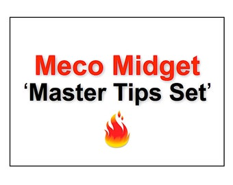 Meco Midget Tips Set - Propane