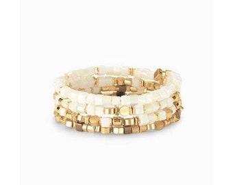 Goa coil bracelet from Stella&dot