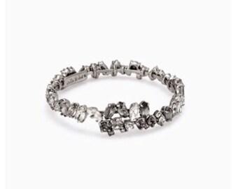 hera coil bracelet silver from stella&dot