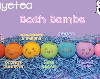 Kawaii Bath Bombs | Homemade