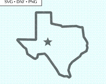 graphic relating to Texas Printable named Texas printable Etsy
