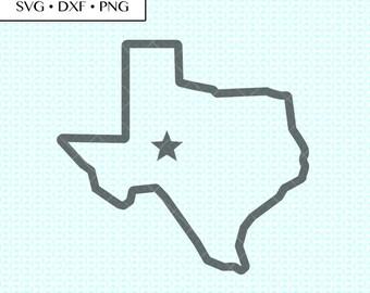 graphic relating to Texas Printable named Texas printable Etsy