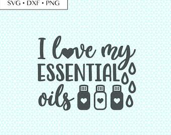 I Love My Essential Oils SVG DXF png Cut Files • Essential Oils Love svg, Essential Oils PNG, Essential Oils Heart Digital, Oils Printable