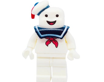 6e3e393017c Stay Puffy Marshmallow Guy Custom MiniFigure (Get it on a Keychain