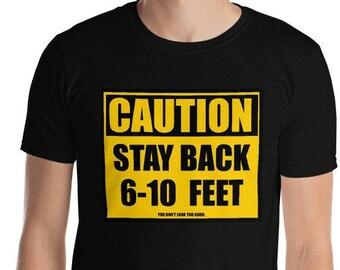 Social Distancing Short-Sleeve Unisex T-Shirt