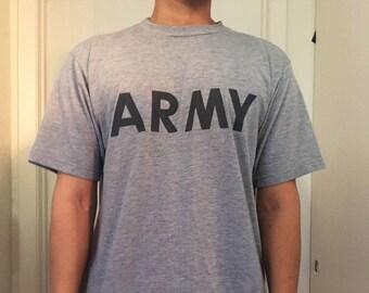 Medium ARMY Logo T-Shirt
