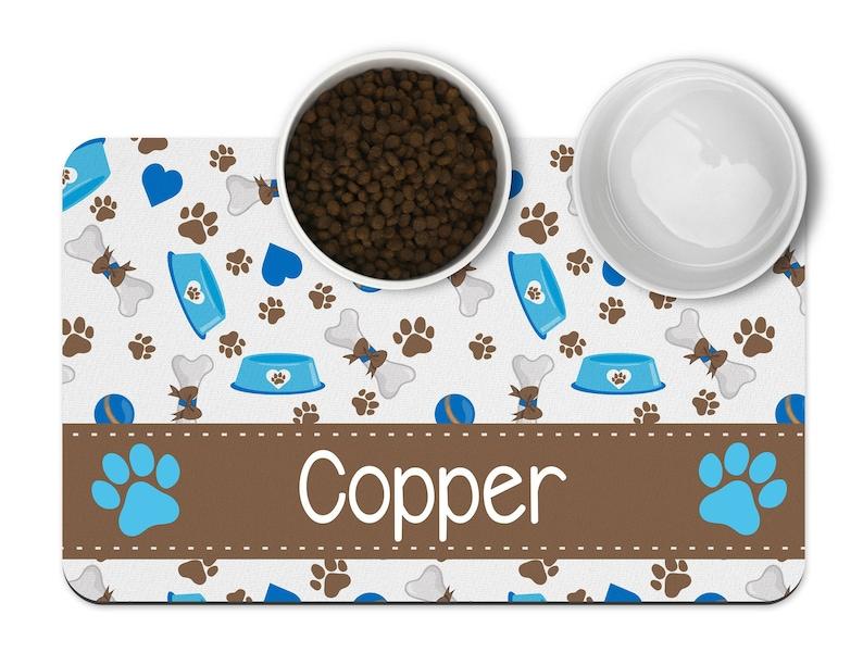Pet Feeding Mat Custom Pet Gifts Pet Place Mat Personalized Pet Mat Custom Pet Mat New Pet Gift