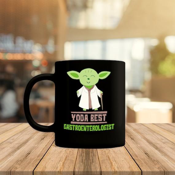 Yoda Best Gastroenterologist Mug, Funny Gift For Gastroenterologist, Star  Wars Lover, Star Wars Fan, Home Coffee Cup, Present Gift Idea
