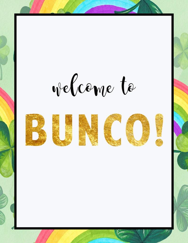Retro Rainbow Bunco Score Cards Retro Rainbow Bunco Retro Rainbow Bunco Score Sheets
