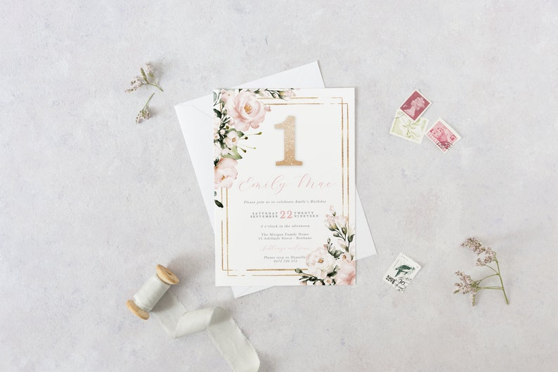 Etsy Printable Invitation