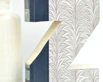Book Letter - Z  Vintage Home Decor, Custom Made