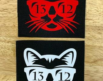 1312 Cat Canvas Patch