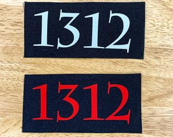 1312 Canvas Patch