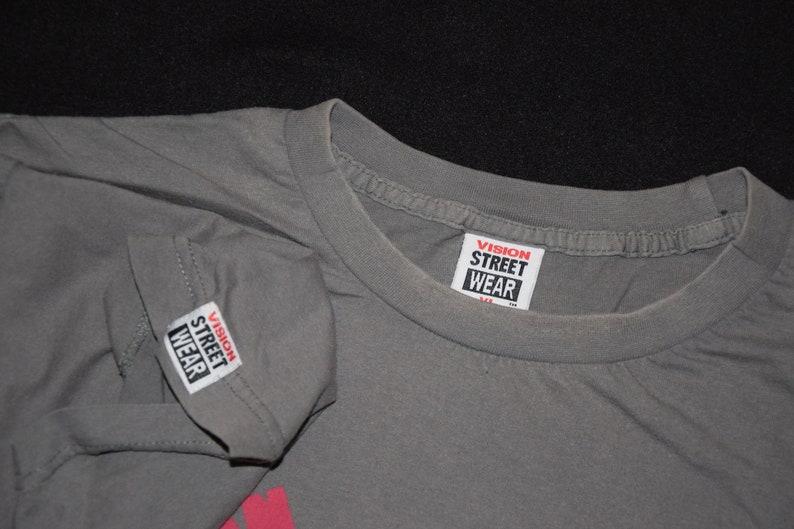 80s Vision Streetwear psycho stick vintage skateboard t-shirt (vans,  thrasher, blind, stussy, independent, World Industries, shortys)
