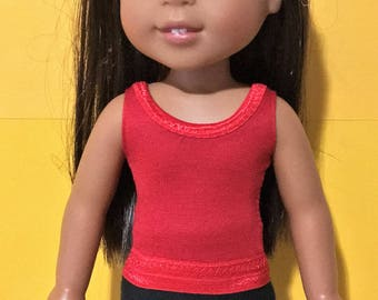 Super Easy Tank Top PATTERN for Wellie Wisher Dolls