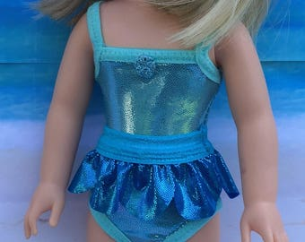 Swimsuit PATTERN for Camille, a Wellie Wisher Doll.