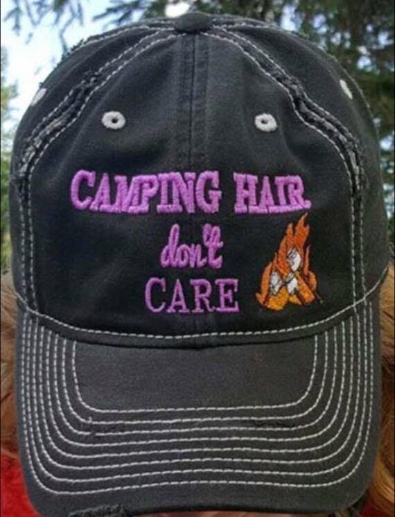 2fedc1b2baa Camping hair don t Care