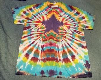909ae58fcd93 tie dye t shirt adult xl