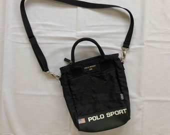 Vintage 90 s Polo Sport Ralph Lauren Bag Cross body Bag Hand Bag a026d94d8696c