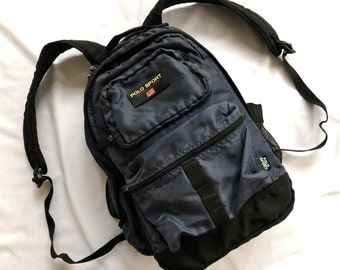 935b8b1af6 Vintage POLO SPORT Ralph Lauren Backpack