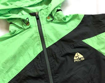 5f4fd85136ad Vintage NIKE ACG Jacket All Condition Gear Jacket Two Tone Logo Reflect