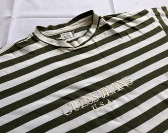 2209254aef Vintage 90's GUESS JEANS USA Shirt Striped