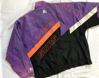 wholesale dealer 5c014 81852 Vintage 90 s Phoenix Suns Starter Jacket Big Logo Multi Colour