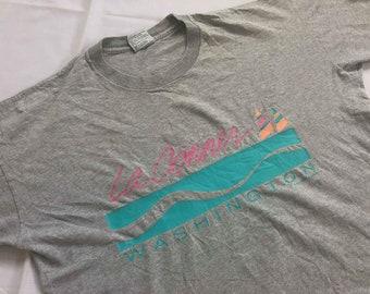 Vintage 80's La Conner Washington shirt vintage