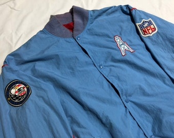 NFL Houston Texaner Vintage Sweatshirt Hoodie Usa Pailletten