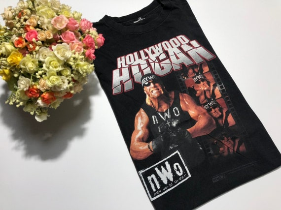 Vintage 1998's Hulk Hogan shirt WOLFPACK  wcw nwo