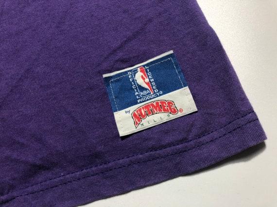 Vintage 1994's Toronto Raptors Shirt Big Logo Nut… - image 6