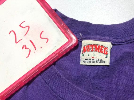 Vintage 1994's Toronto Raptors Shirt Big Logo Nut… - image 9