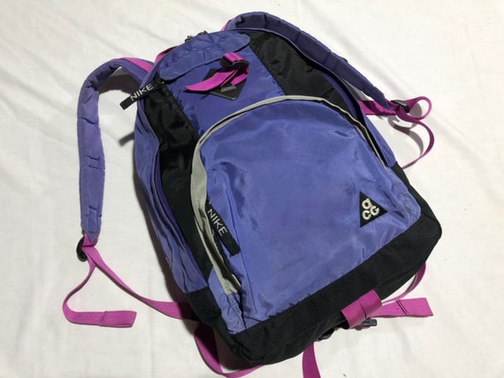 Vintage 90's NIKE ACG All Condition Gear Backpacks