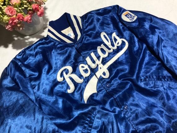 Vintage 90's Kansas City Royals Baseball Satin Jac