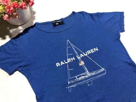 Vintage 90's POLO SPORT Ralph Lauren Yacht Shirt