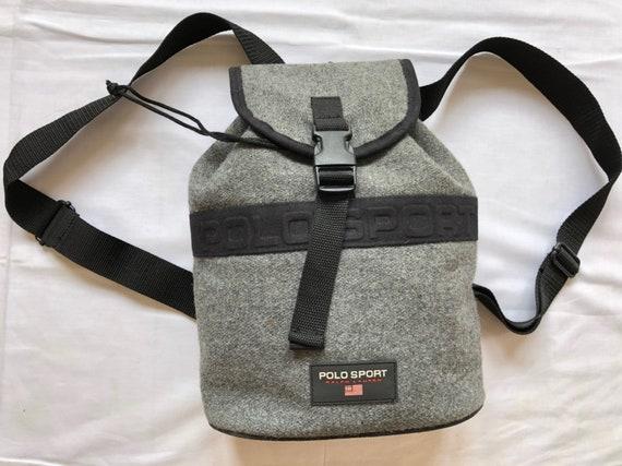 fd8fce9fbdbd Vintage 90 s Polo Sport Ralph Lauren Backpack