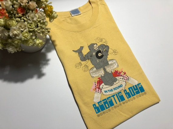 Vintage 1990's Beastie Boys Shirt World Tour