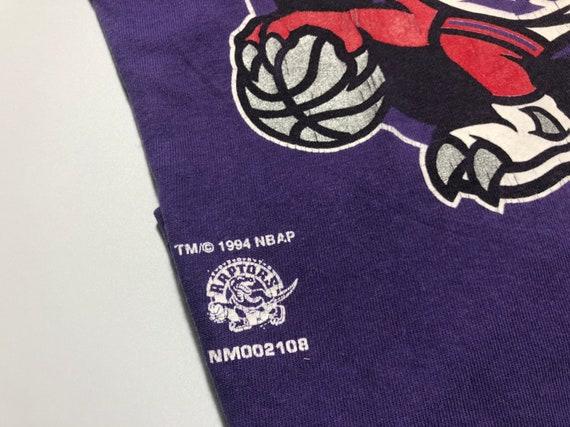Vintage 1994's Toronto Raptors Shirt Big Logo Nut… - image 4