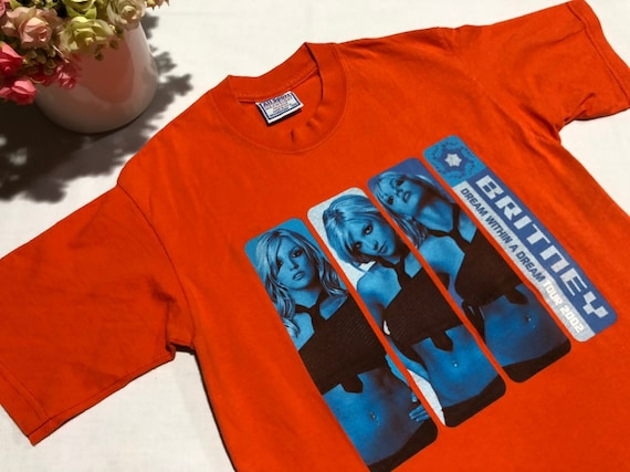 Vintage Britney Spears Shirt  'Dream Within A Drea