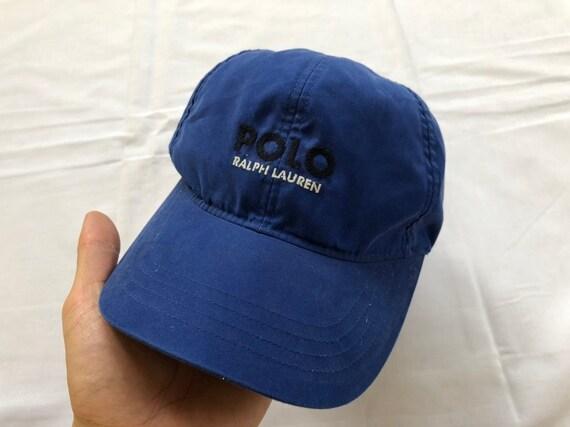 Vintage Polo Ralph Lauren GOLF Hat Cap Big Logo  f63fe0a9b67