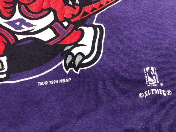 Vintage 1994's Toronto Raptors Shirt Big Logo Nut… - image 5