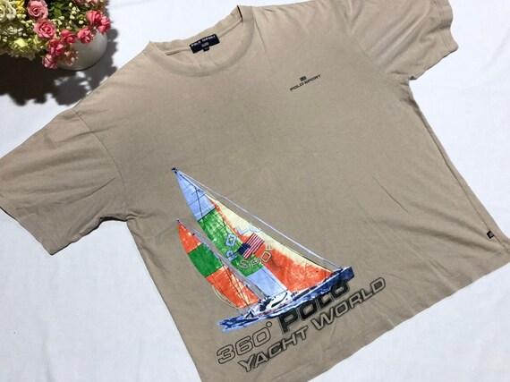 Vintage 90's POLO SPORT Yacht World Ralph Lauren s