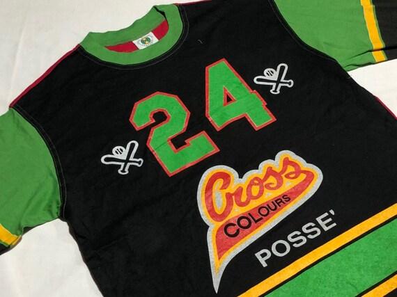 Vintage 90's  Cross Colours Posse Shirt Multi Colo