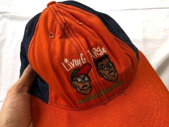 Vintage 90's Cross Colours Hat Cap LIVING LARGE - image 8