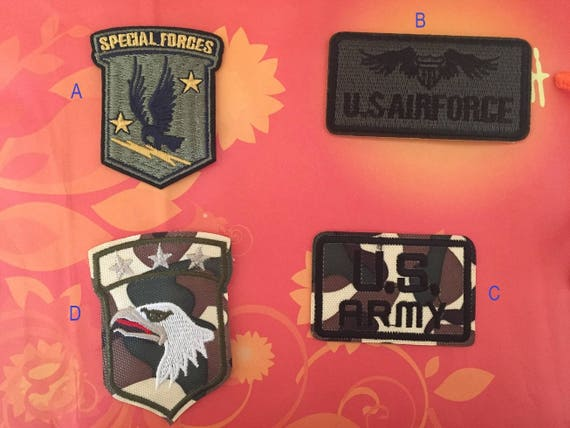 Special Forces patch US Army Embroidered patch eagle patch US airforce patch